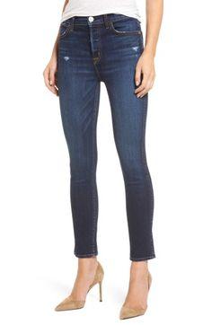 Hudson Holly High-rise Cropped Skinny Jeans In Corrupt Cropped Skinny Jeans, Super Skinny Jeans, Skinny Fit, Hudson Jeans, Jeans Style, Stretch Denim, Short Skirts, Denim Jeans, Nordstrom
