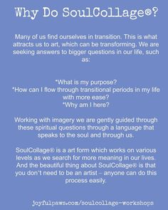 Why Do SoulCollage?
