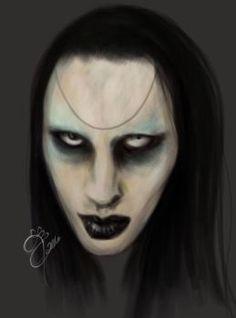 Marilyn Manson by CandyDemonArt
