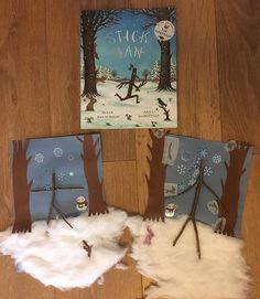 Stick Man art - a recreation of the front cover. Tuff Tray, Stick Man, Man Art, Book Crafts, Cassie, Big Kids, Sticks, Toddlers, Baskets