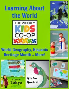 Learning About the World: 10 Resources + Activities from The Kid's Co-Op #mkb