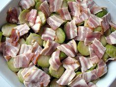 Mézes finomságok...: Csőben sült kelbimbó baconnel
