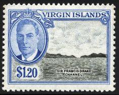 King George VI-Virgin Islands 1952