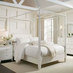 awesome White Canopy Bed