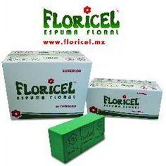 Espuma floral #FLORICEL. El tabique que se transforma en diseño floral