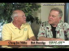 Interview with artist, Bob Burridge