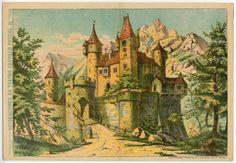 78.2765: Decoraciones De Teatro Castillo Feudal | theater | Play Sets | Toys | Online Collections | The Strong
