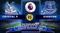 Prediksi Bola Crystal Palace vs Everton 18 November 2017 Liga Inggris