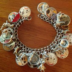 Disneys 101 Dalmatians Altered Art Charm Bracelet by rockshanks, $34.99