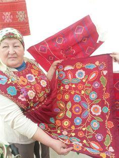 Башкирский орнамент  Башкортостан  Тамбурная вышивка  Аляпкыс