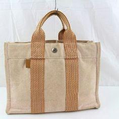 Auth Hermes bag BGCTT011 Authentic Excellent TOTE BAG d8dea3132be31