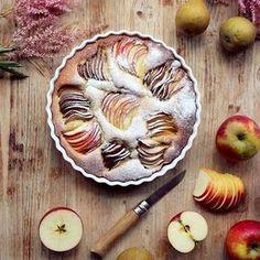 Gâteau au yaourt à l'amande – Aux pommes et aux poires by Söta Salt
