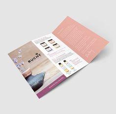 A branding success story by Parallel Branding. Magazine Design, Brochure Design, Brochure Ideas, Design Layouts, Design Design, Packaging Design, Branding Design, Skincare Branding, Essential Oil Set