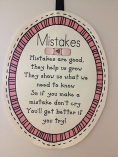 mistakes- even at 21 yrs of age this is good to read.