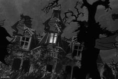 cartoon, bats and scooby doo GIF on We Heart It Scooby Doo Halloween, Halloween Facts, Halloween Cartoons, Halloween Night, Halloween Pictures, Spooky Scary, Creepy, Dark Gif, Scooby Doo Images