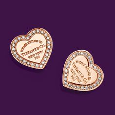 Tiffany OFF! Return to Tiffany® designs remind her that there's no one like you—and no place like Tiffany. Tiffany Girls, Tiffany & Co., Tiffany Earrings, Tiffany Jewelry, Stud Earrings, Antique Rings, Antique Jewelry, Vintage Jewellery, Heart Jewelry