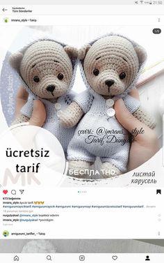 Crochet Teddy, Crochet Bear, Crochet Toys, Crochet Flowers, Knitted Hats, Hello Kitty, Crochet Patterns, Teddy Bear, Stitch