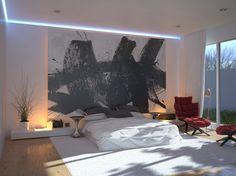 Tableau XXL en tete de lit