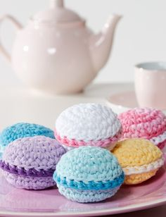 Yarnspirations.com - Lily Macarons - Patterns | Yarnspirations