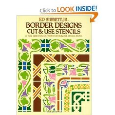 Border Designs Cut & Use Stencils (Dover Stencils)