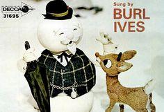 Rankin/Bass A Holly Jolly Christmas Record Ad Mini Poster