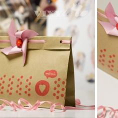 Handmade Packaging {Papercraft}