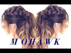 Mohawk Pull-Through Braid by SweetHearts Hair Design - YouTube