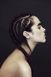 Cornrows and Mini Braids - The VandalList Funky Hairstyles, Braided Hairstyles, Edgy Haircuts, Teenage Hairstyles, Stylish Hairstyles, Hairstyle Short, Style Hairstyle, Hair Inspo, Hair Inspiration