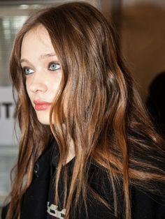 Blumarine milan fashion week aw14 - autumn/winter 2014 hair makeup beauty trends - backstage beauty report - cosmopolitan.co.uk