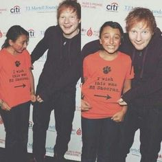So cute! :) Ed Sheeran ♥<< OMG her face!!! This is so cute!