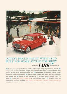 STUDEBAKER LARK AD - Vintage Ad - Car Poster, Professional Reproduction, Car…