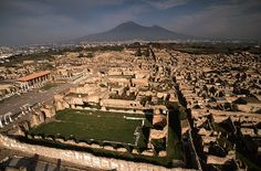 Pompeii is such an archeological wonder.  I would really like to walk in the shadow of Mt Vesuvius - as long as it stays quiet!