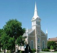 Manti Tabernacle, Manti, Utah.