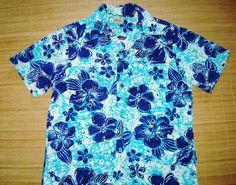 Vintage Aloha Hawaiian Shirt  L The Hana Shirt by thehanashirtco