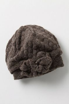 knotted blossoms beanie