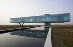The Villa Kogelhof in Kamperland, The Netherlands, by Paul de Ruiter Architects.
