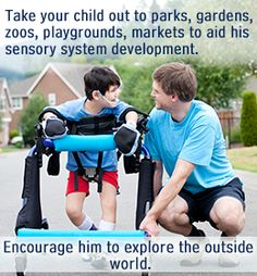 Activities for children with CP.
