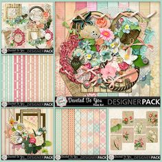 Digital Scrapbooking Kits | Devoted to You-(ADBD) | Family, Heritage, Holidays - Mother's Day, Love, Vintage | MyMemories