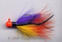 Marabou+Jigs   Marabou Jig - 3/8oz - 1/2oz - Sunset- Fishing Lure
