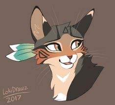 Looks like Piper as a warrior cat Warrior Cats Series, Warrior Cats Books, Warrior Cats Fan Art, Cute Animal Drawings, Cute Drawings, Chat Ch, Anime Animals, Cute Animals, Warrior Cat Drawings