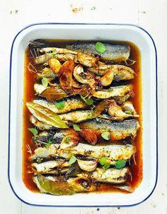 A l'escabèche - 10 recettes faciles de sardines inspirantes - Elle à Table