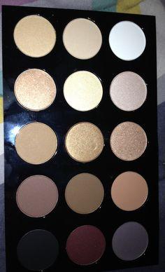 M-A-C Palette.  #mac #makeup