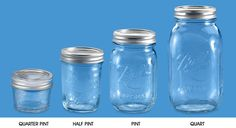 Uline stocks a wide selection of Canning Jars . Order by 6 pm for same day shipping. Over products in stock. Two Locations in Canada for fast delivery of Canning Jars. Mason Jars Bulk, Ball Canning Jars, Ball Mason Jars, Kids Art Area, Engineers Day, Pots, Propose Day, Quart Jar, Jokes Pics