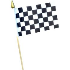 Race Car Checkered Flag (12 count) - Decorations & Party Supplies