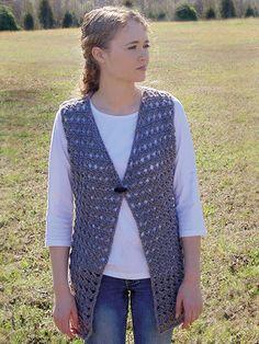 Crochet Patterns - Lacy Vest Crochet Pattern