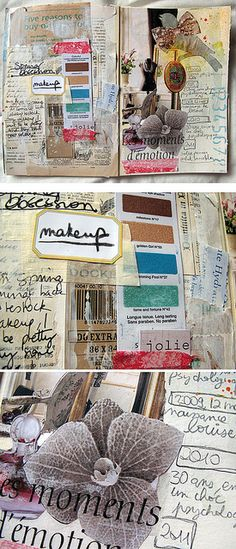 Carnet de Printemps 7 by Pretty Arty, via Flickr