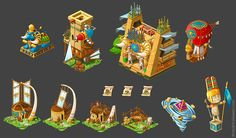 Isometric Background and Asset Examples on Level 1 Environment | Trello