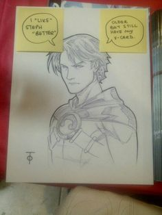 Tim Drake serious (Red Robin) by Marcus To
