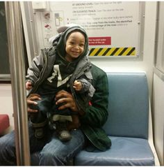 My first subway ride
