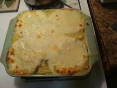 Bariatric Foodie: Spaghetti Squash Alfredo a la Nik